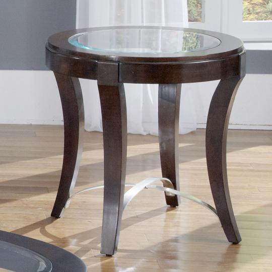 Avalon Oval End Table by Liberty Furniture at Northeast Factory Direct