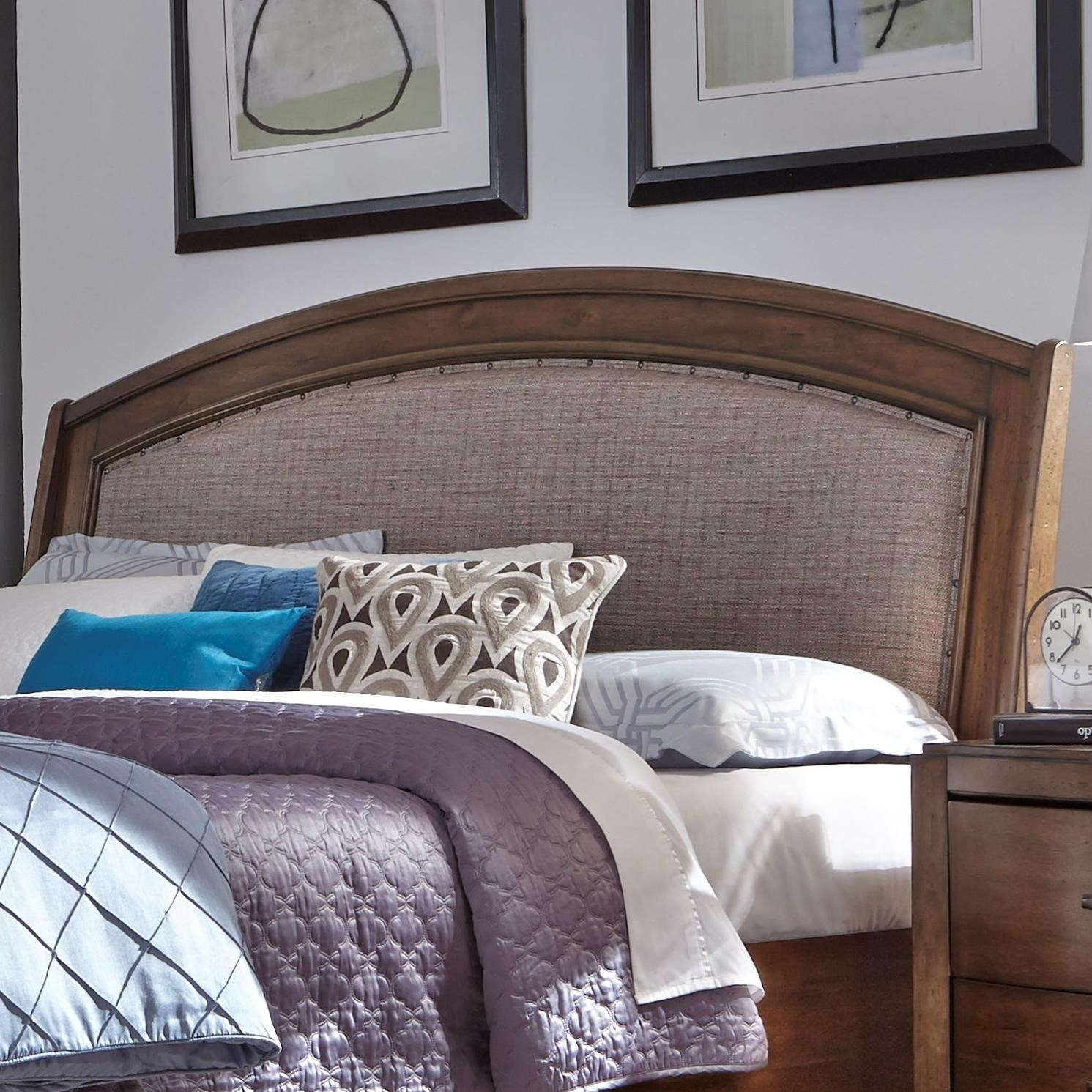 Avalon III Queen Upholstered Headboard by Liberty Furniture at Darvin Furniture