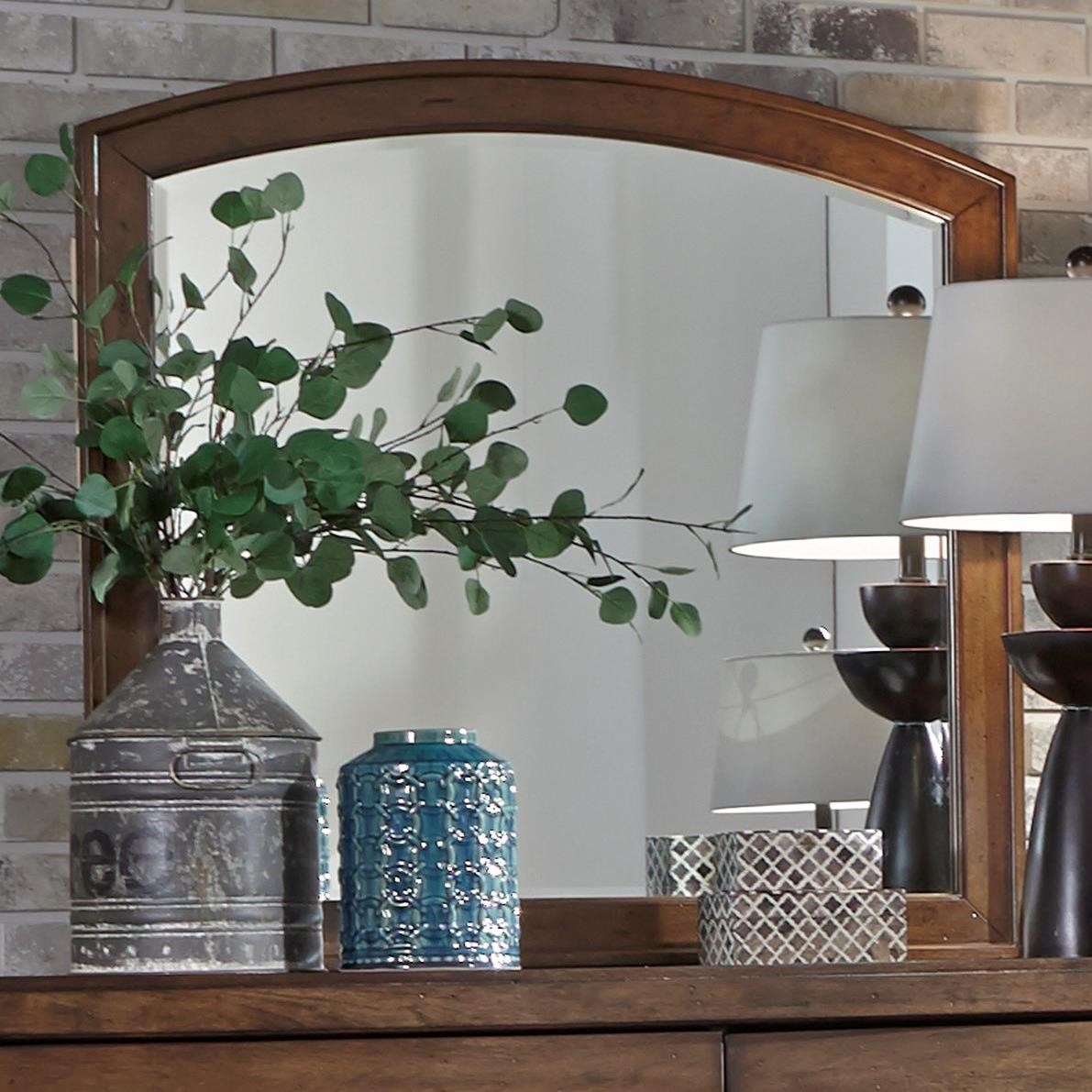 Avalon III Mirror by Liberty Furniture at Darvin Furniture