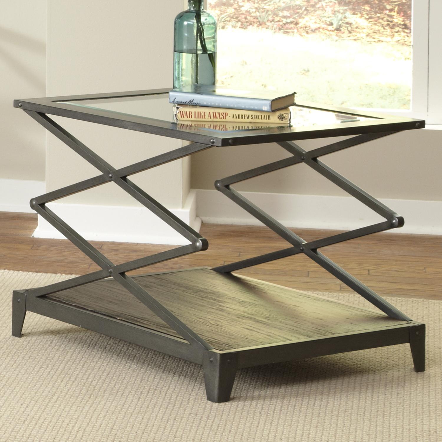 Avignon Scissor-Lift End Table by Liberty Furniture at Standard Furniture