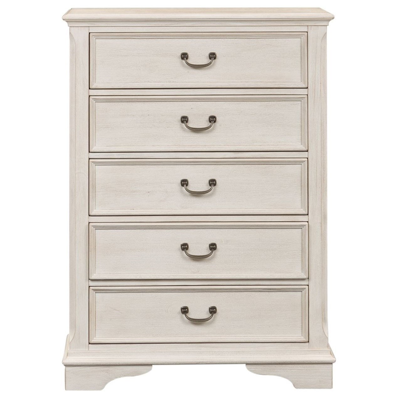 Bayside Bedroom 5 Drawer Chest by Liberty Furniture at Johnny Janosik