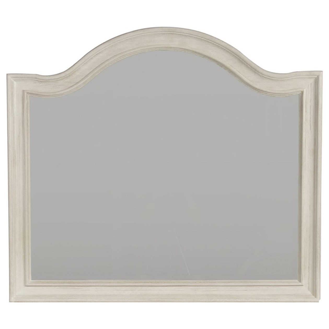 Bayside Bedroom Arched Mirror by Libby at Walker's Furniture