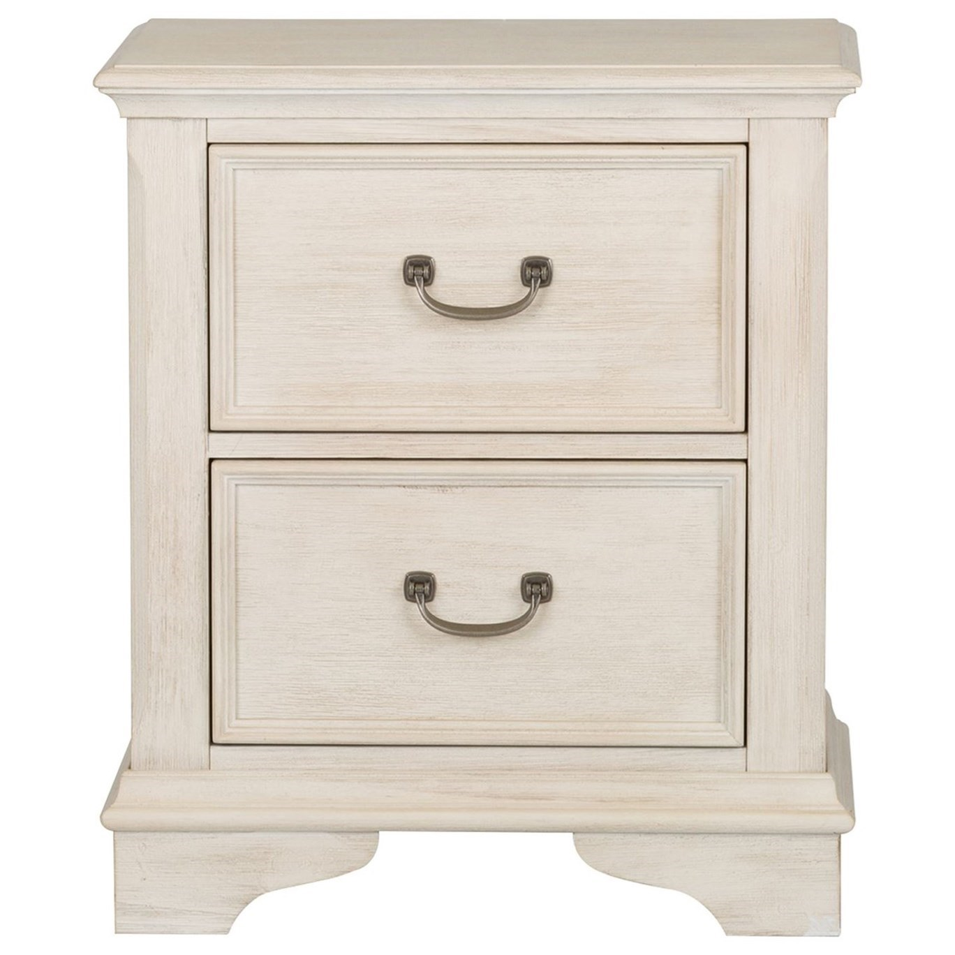 Bayside Bedroom 2 Drawer Night Stand by Liberty Furniture at Zak's Home