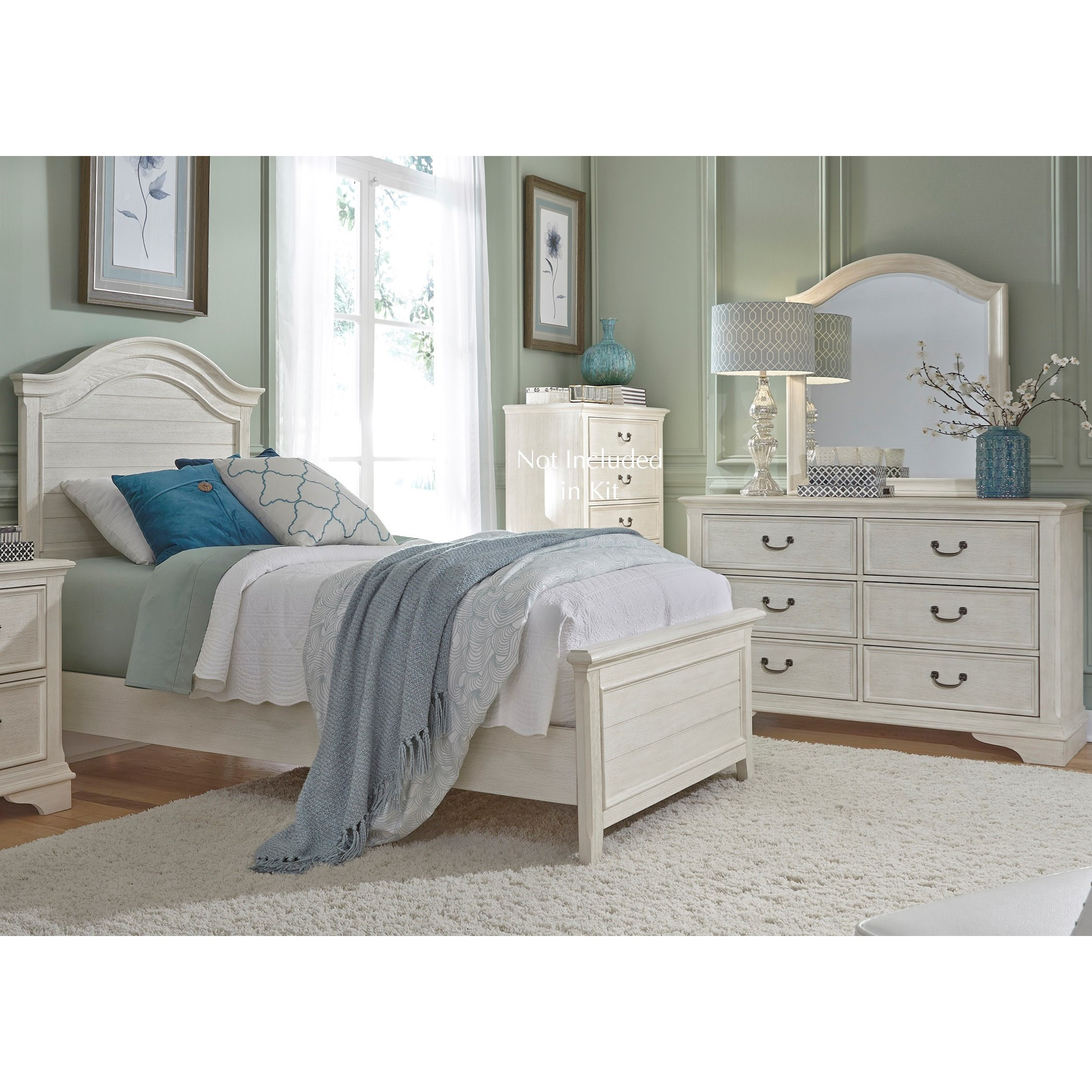 Bayside Bedroom Full Bedroom Group by Liberty Furniture at SuperStore