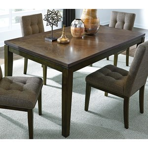 Contemporary Dining Table with Floating Top Design