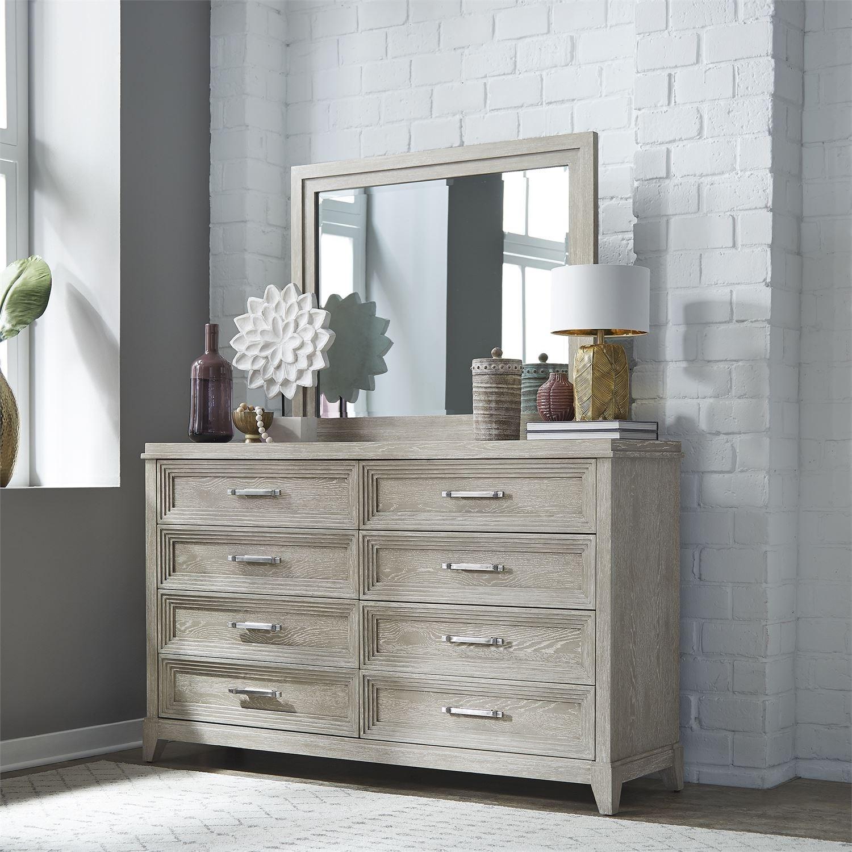 Belmar Dresser & Mirror by Libby at Walker's Furniture