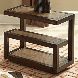 Liberty Furniture Bennett Point Mid-Century Modern Chair Side Table