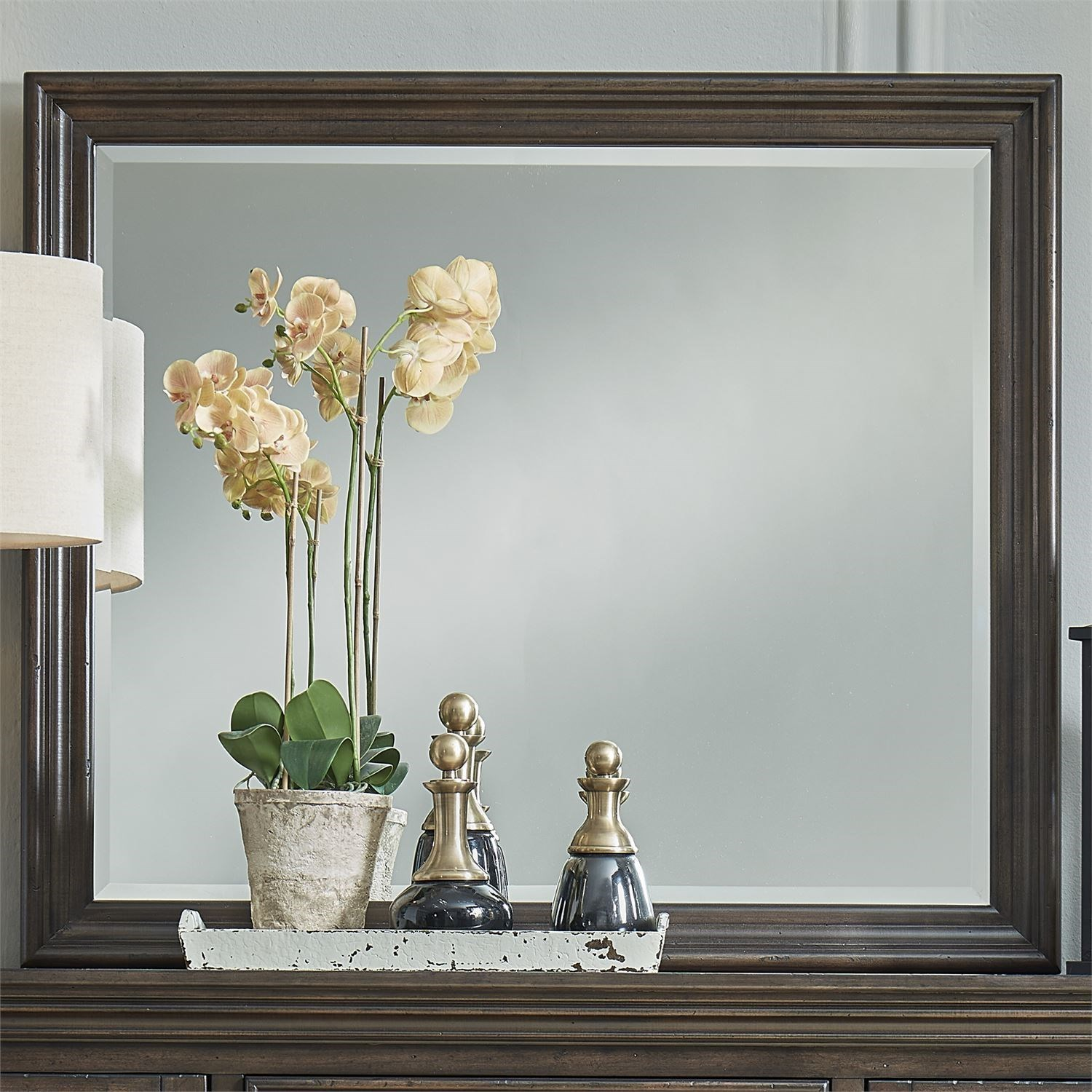 Big Valley Mirror by Liberty Furniture at Gill Brothers Furniture