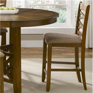 Liberty Furniture Bistro Double X-Back Counter Height Chair