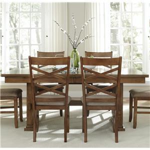 Liberty Furniture Bistro Trestle Table