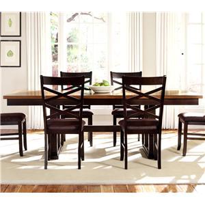 Liberty Furniture Bistro II Trestle Table