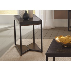 Liberty Furniture Blue Stone Hills Occasional Chair Side Table