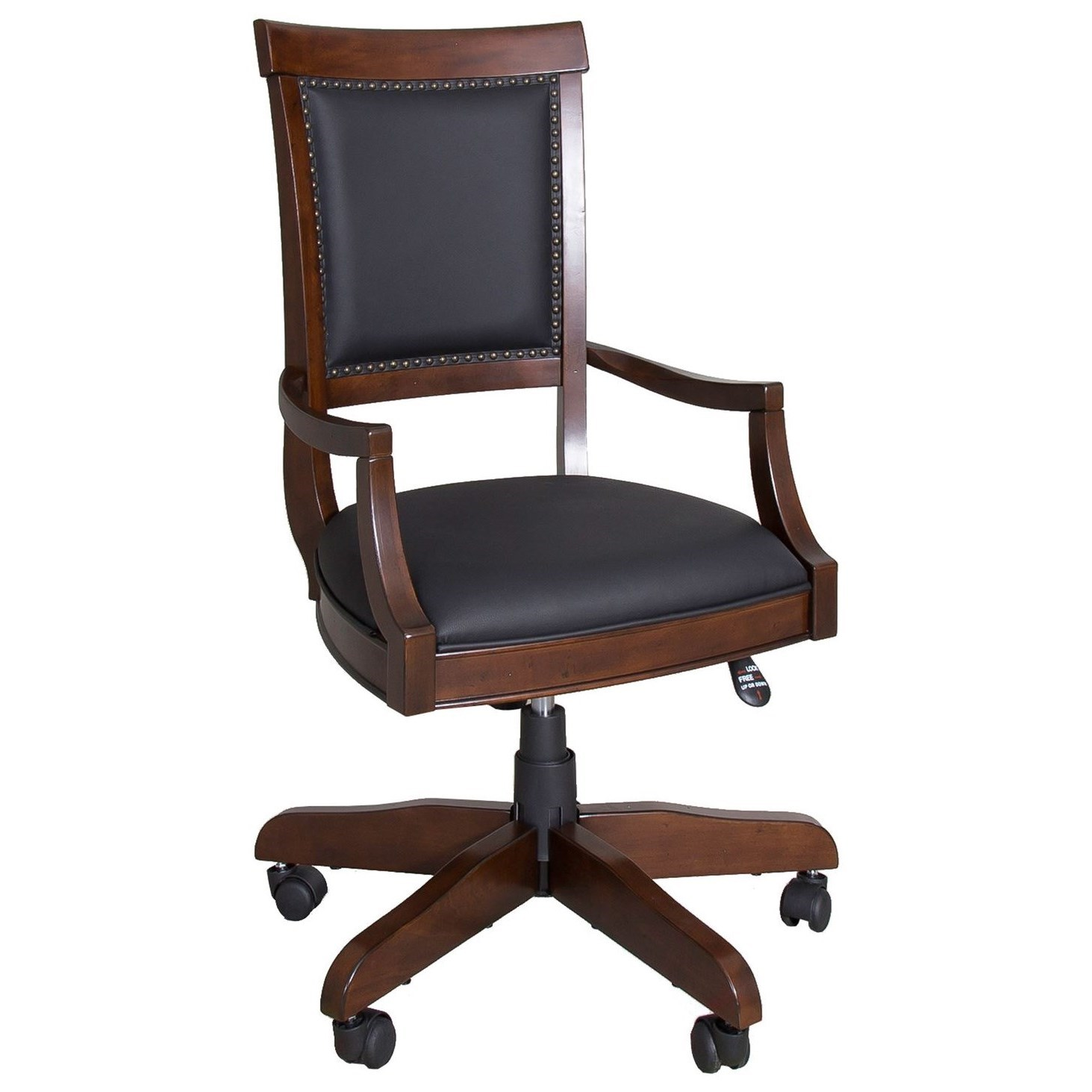 Brayton Manor Jr Executive Executive Desk Chair by Liberty Furniture at Darvin Furniture