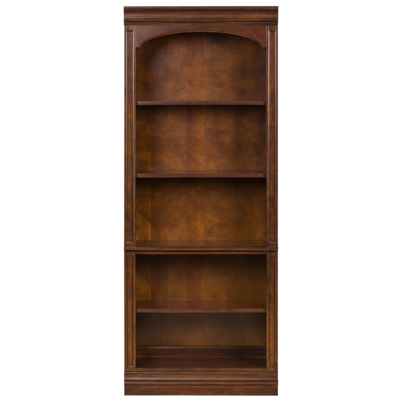 Brayton Manor Jr Executive Open Bookcase by Libby at Walker's Furniture