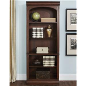 Traditional Open Bookcase with 5 Shelves