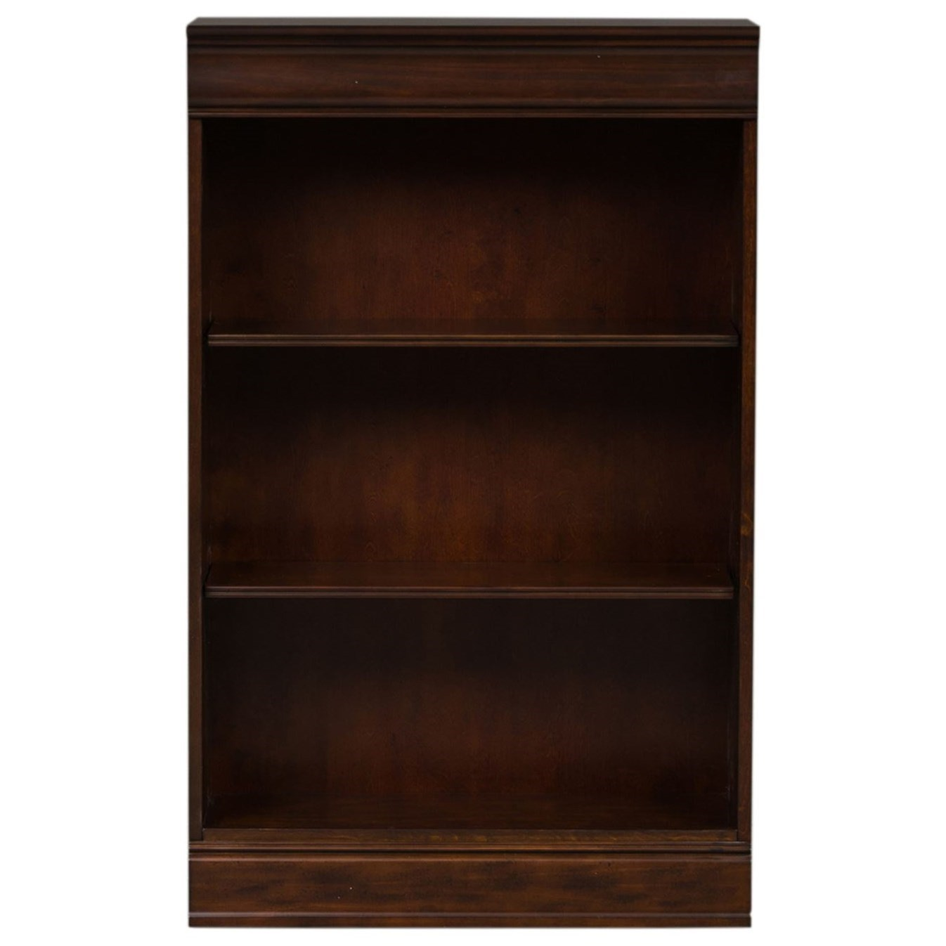 Brayton Manor Jr Executive 48 Inch Bookcase by Libby at Walker's Furniture