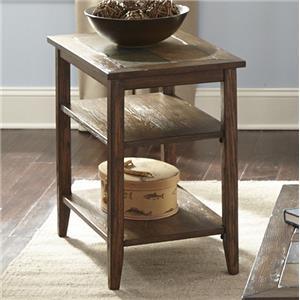 Liberty Furniture Brookstone Chairside Table
