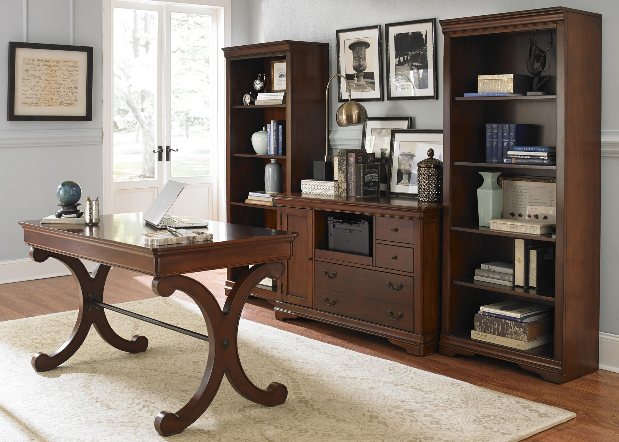 Brookview 4 Piece Desk Set  by Libby at Walker's Furniture