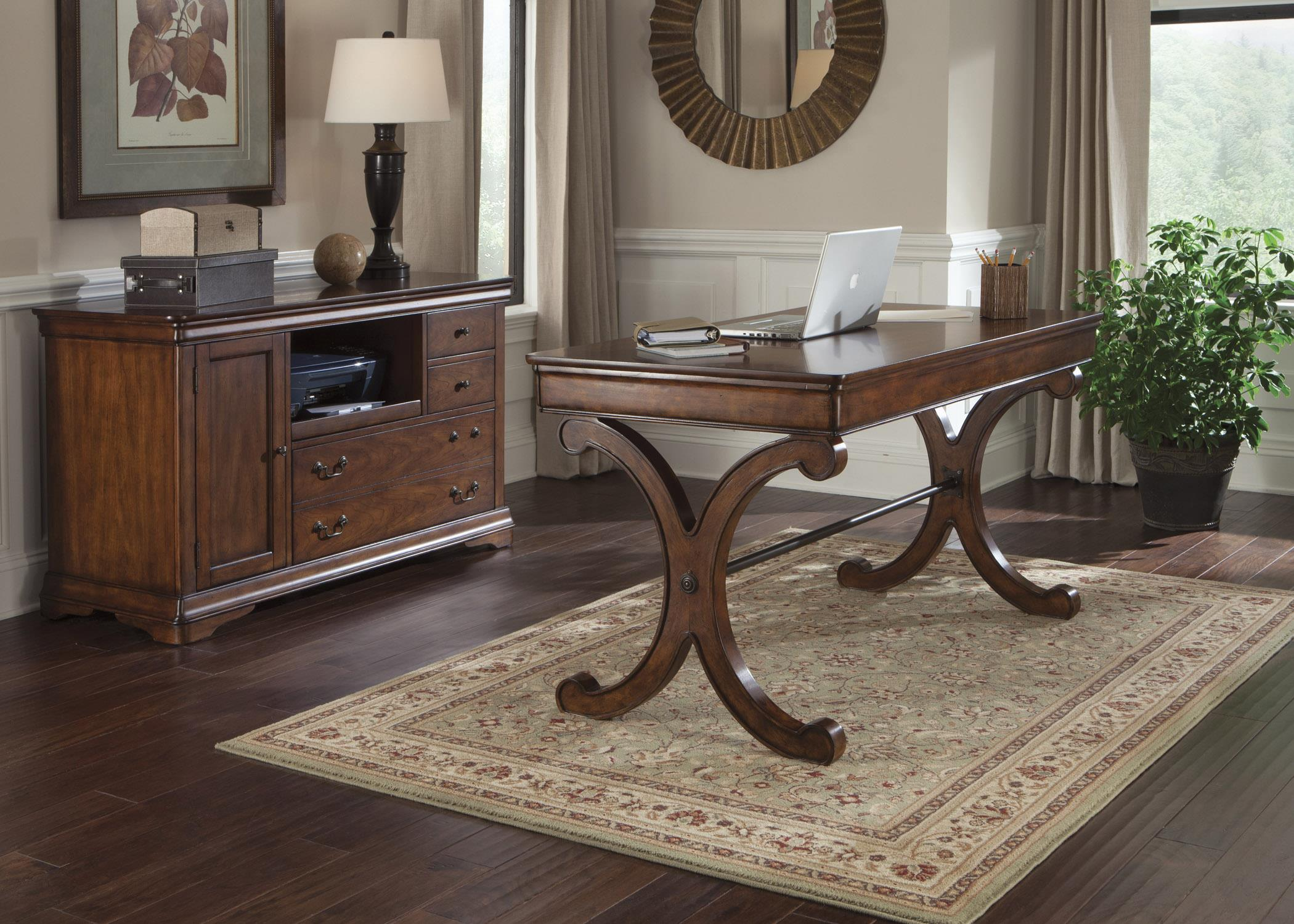 Brookview Complete Desk by Liberty Furniture at Zak's Home