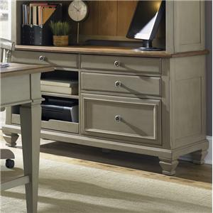 Jr. Executive Credenza w/ Printer Tray