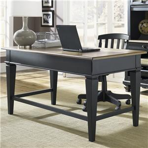 Jr. Executive Table Desk w/ 2 Drawers