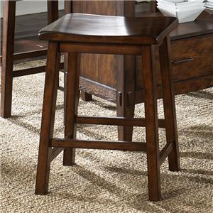 Backless Sawhorse Barstool