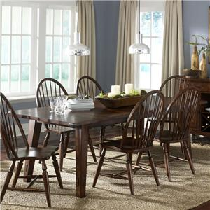 Liberty Furniture Cabin Fever Rectangular Leg Table