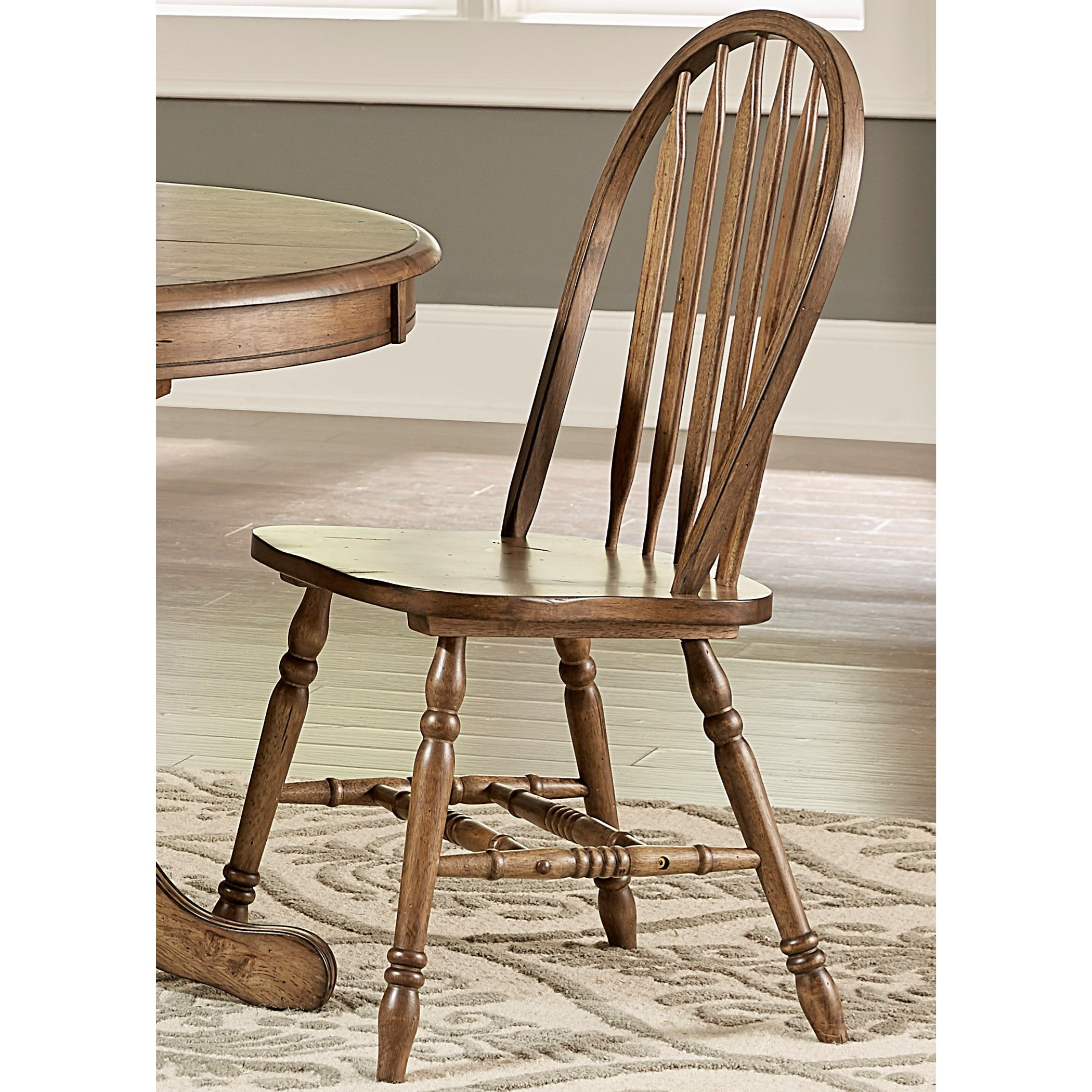 Carolina Crossing Windsor Side Chair by Liberty Furniture at Lapeer Furniture & Mattress Center