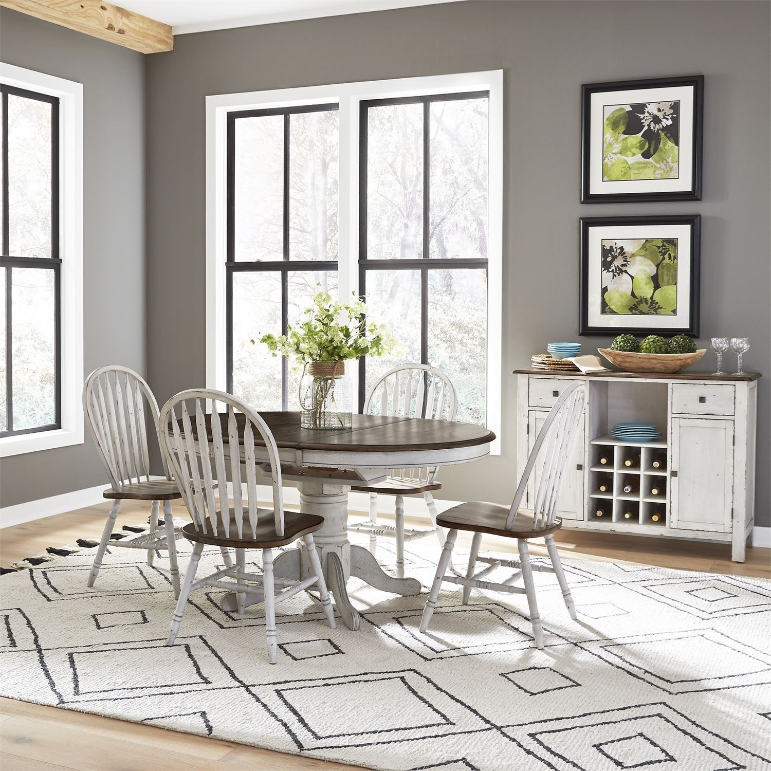 Carolina Crossing Casual Dining Room Group by Freedom Furniture at Ruby Gordon Home