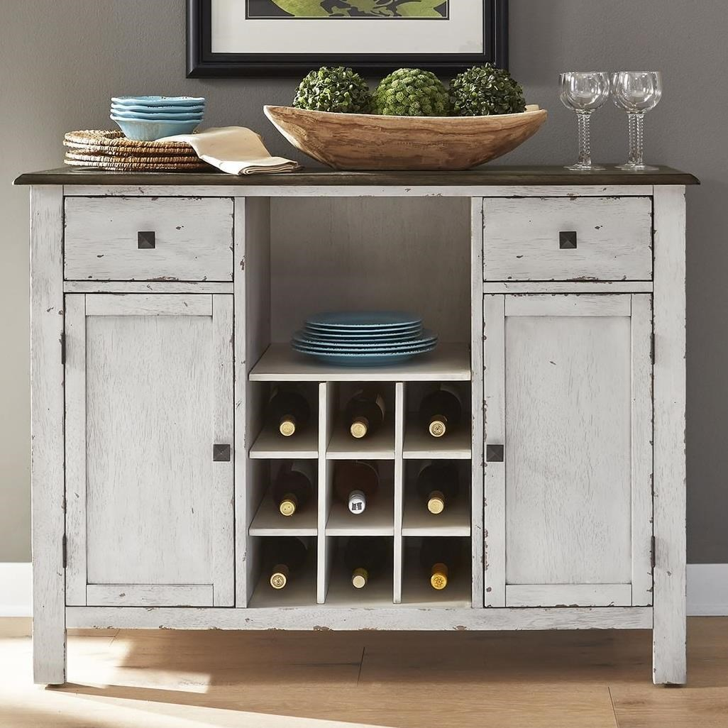 Carolina Crossing Dining Server by Liberty Furniture at Zak's Home
