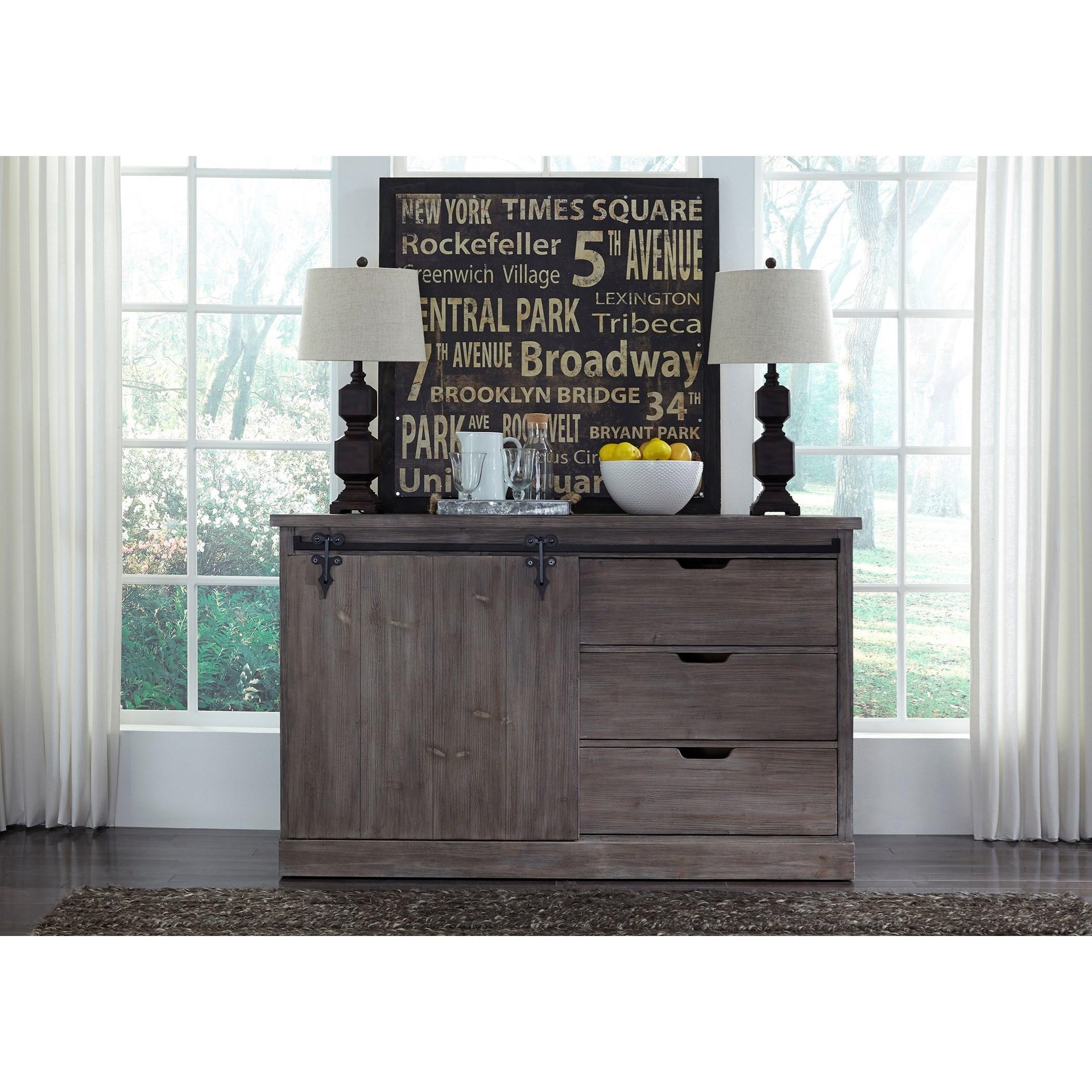 Carolina Lakes Server by Liberty Furniture at Northeast Factory Direct