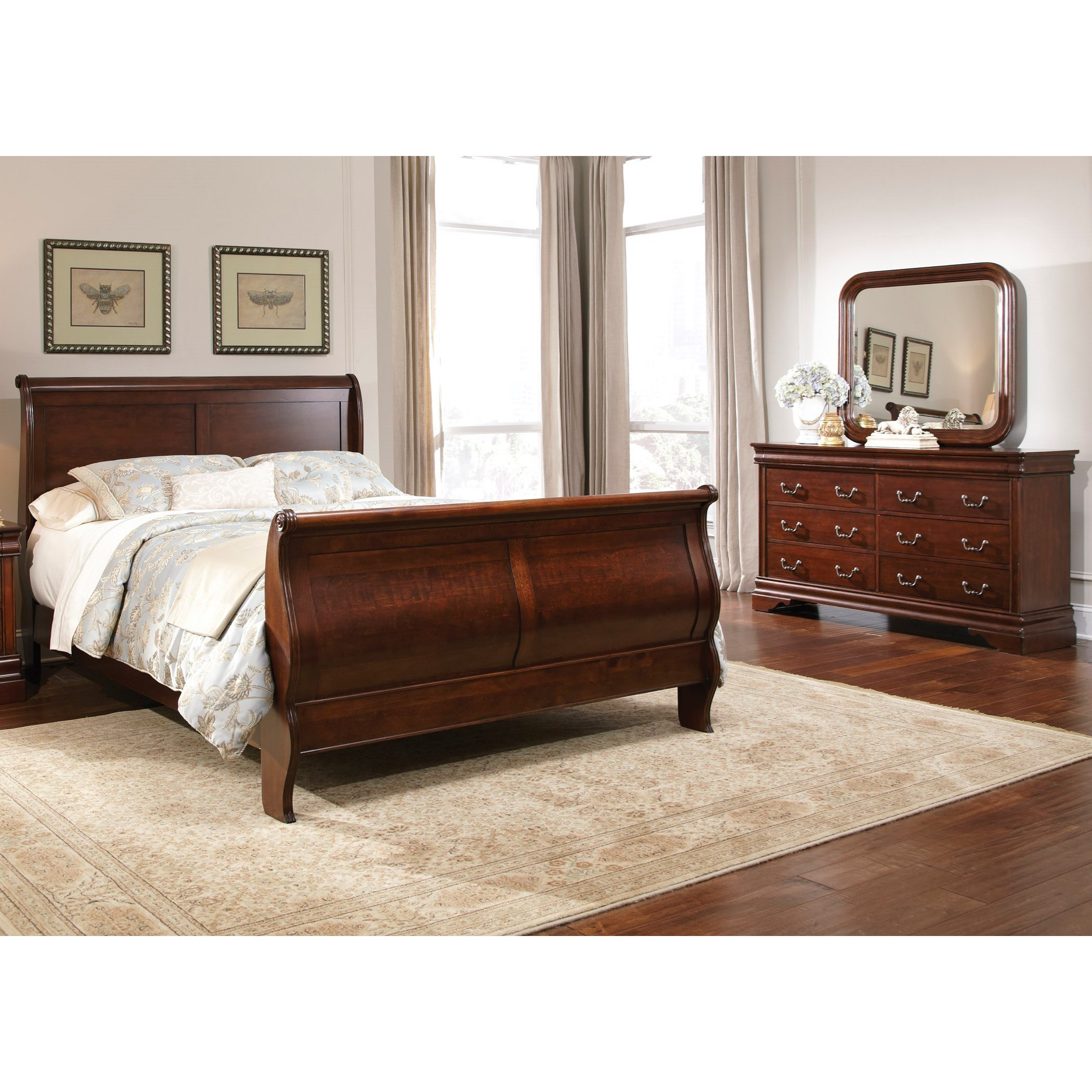 Carriage Court King Sleigh Bedroom Group by Liberty Furniture at Northeast Factory Direct