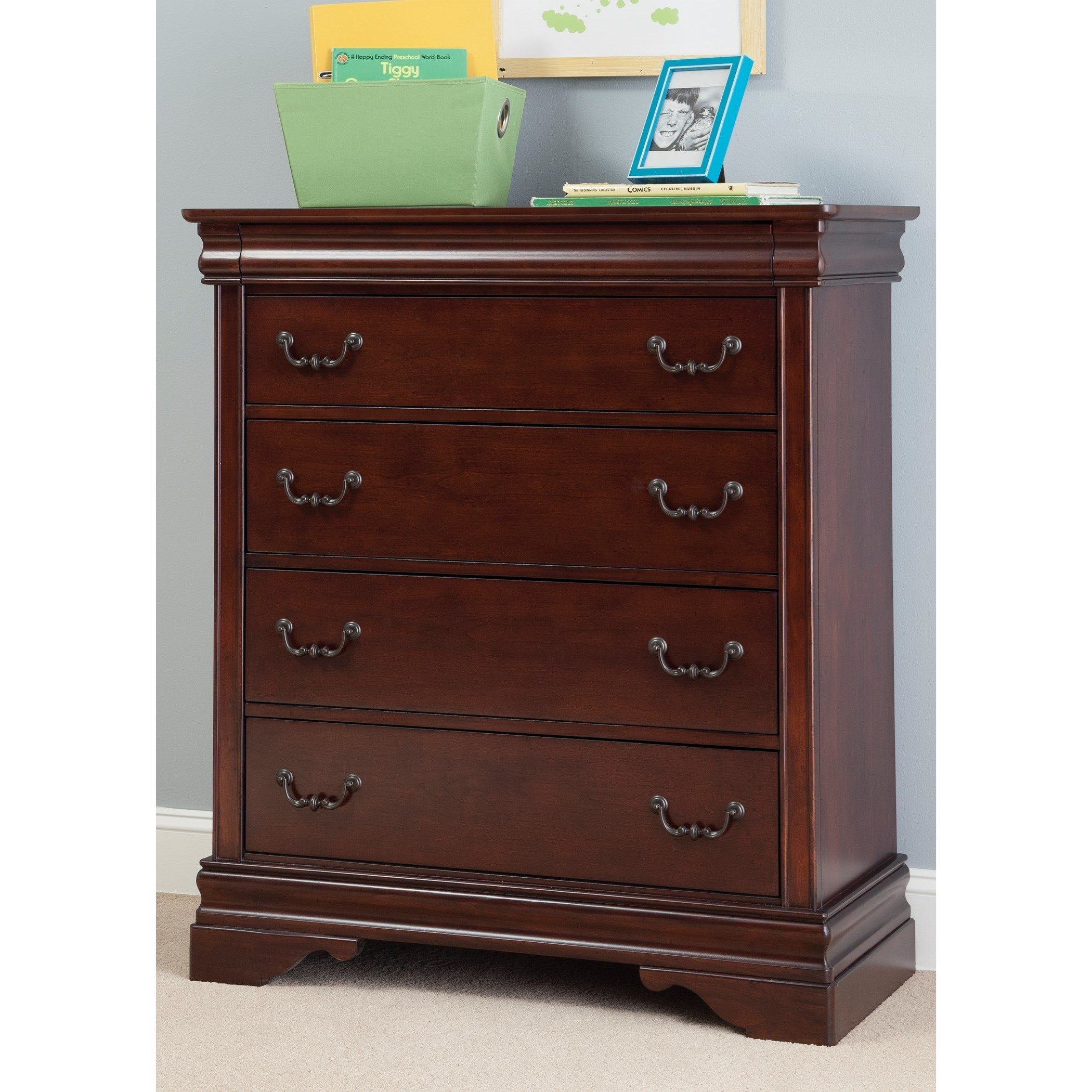 Carriage Court Youth Five Drawer Chest by Libby at Walker's Furniture