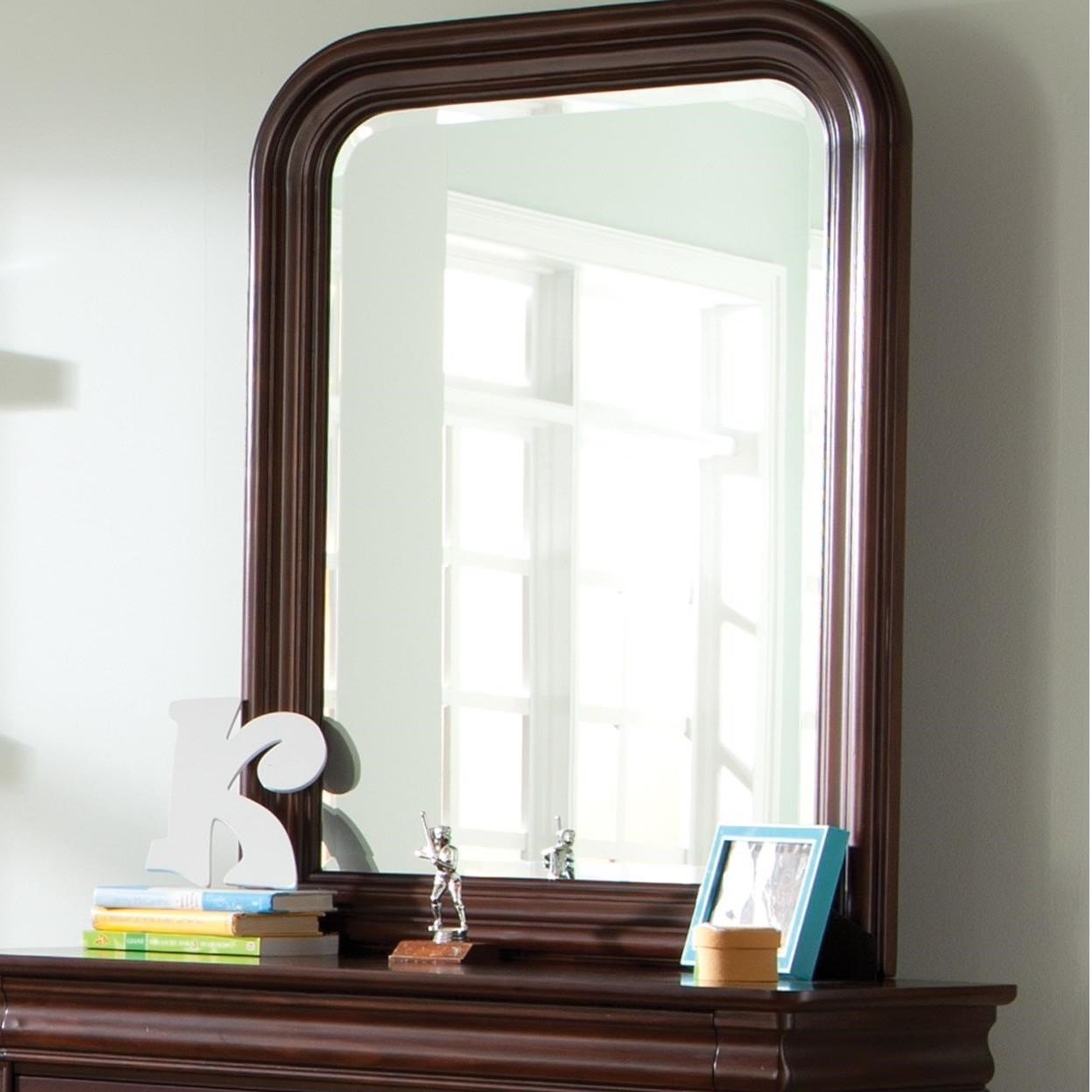 Carriage Court Mirror by Libby at Walker's Furniture