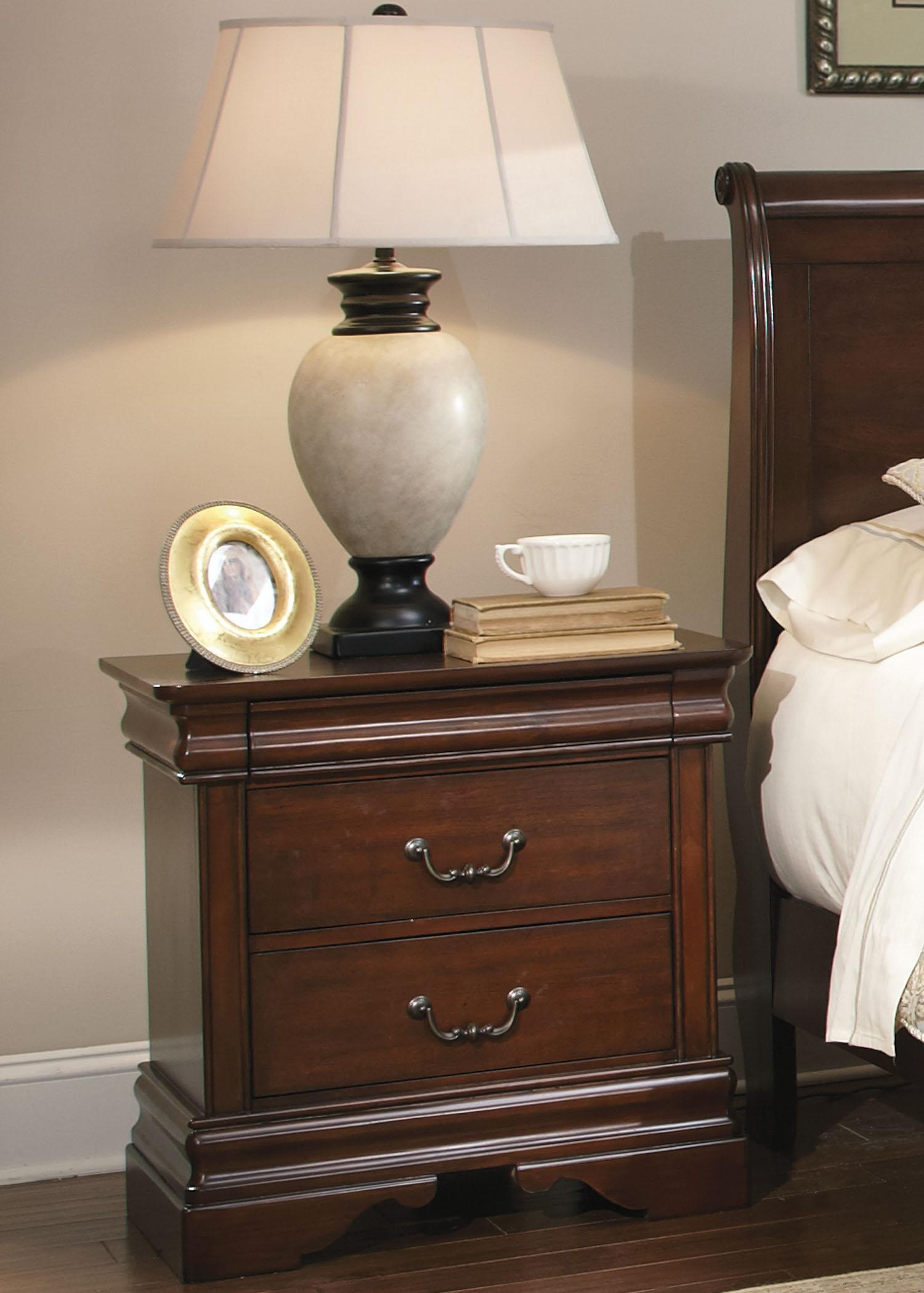 Carriage Court Night Stand by Libby at Walker's Furniture