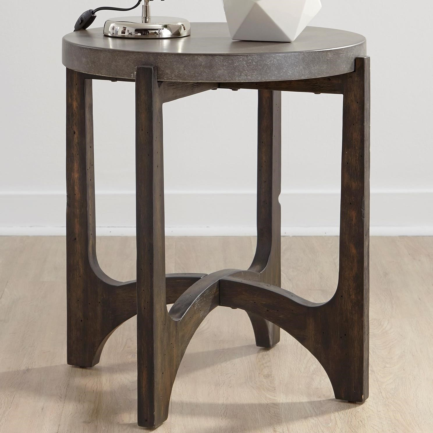 Cato End Table by Libby at Walker's Furniture