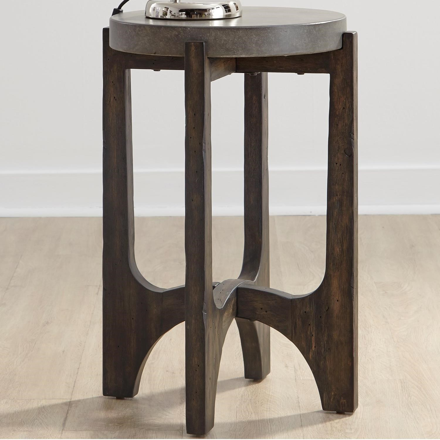 Cascade Chairside Table by Liberty Furniture at Johnny Janosik
