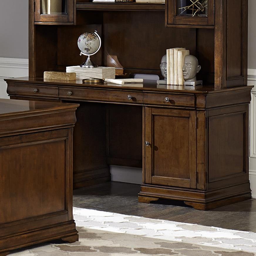Chateau Valley Jr Executive Credenza  by Liberty Furniture at Northeast Factory Direct