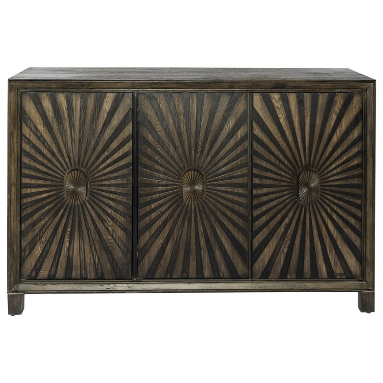 Chaucer 3-Door Accent Cabinet by Libby at Walker's Furniture