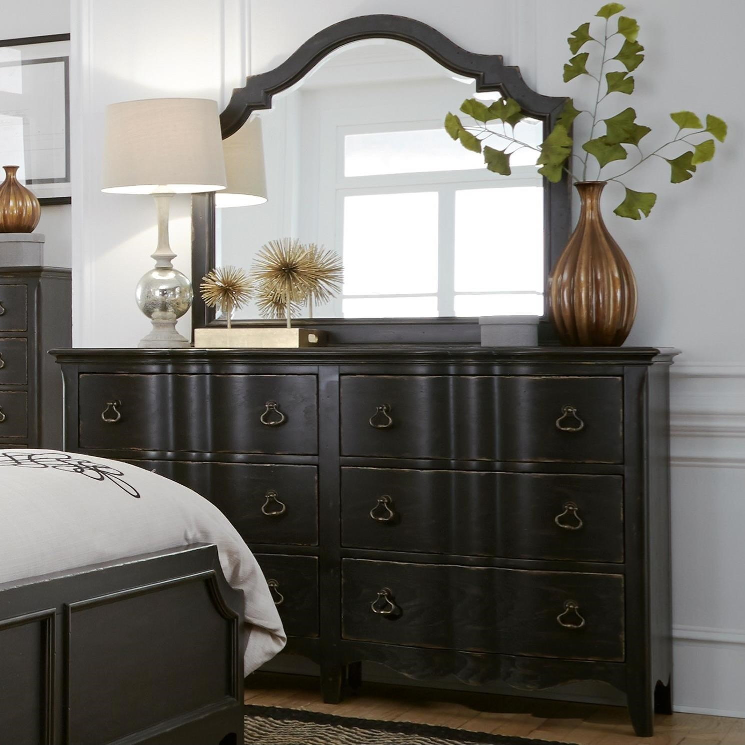 Chesapeake Dresser and Mirror Combo by Liberty Furniture at Northeast Factory Direct
