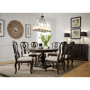 Relaxed Vintage Dining Room Group