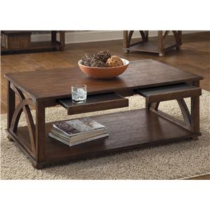 Liberty Furniture Chesapeake Bay Arched Panel Cocktail Table