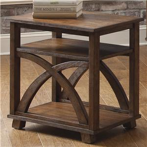 Liberty Furniture Chesapeake Bay Chair Side Table