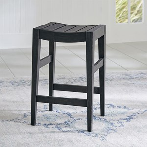 Transitional Counter Height Barstool