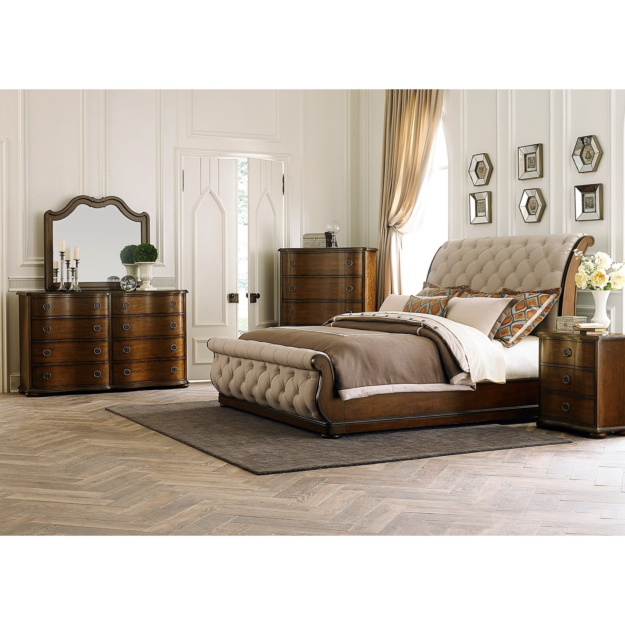 Cotswold  King Bedroom Group by Liberty Furniture at Zak's Home