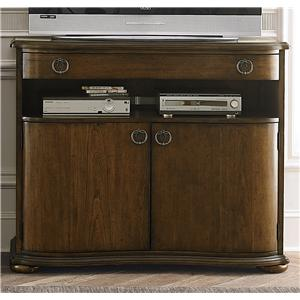 Transitional Media Chest with 2 Doors