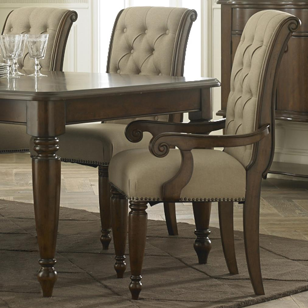 Cotswold  Upholstered Arm Chair by Libby at Walker's Furniture