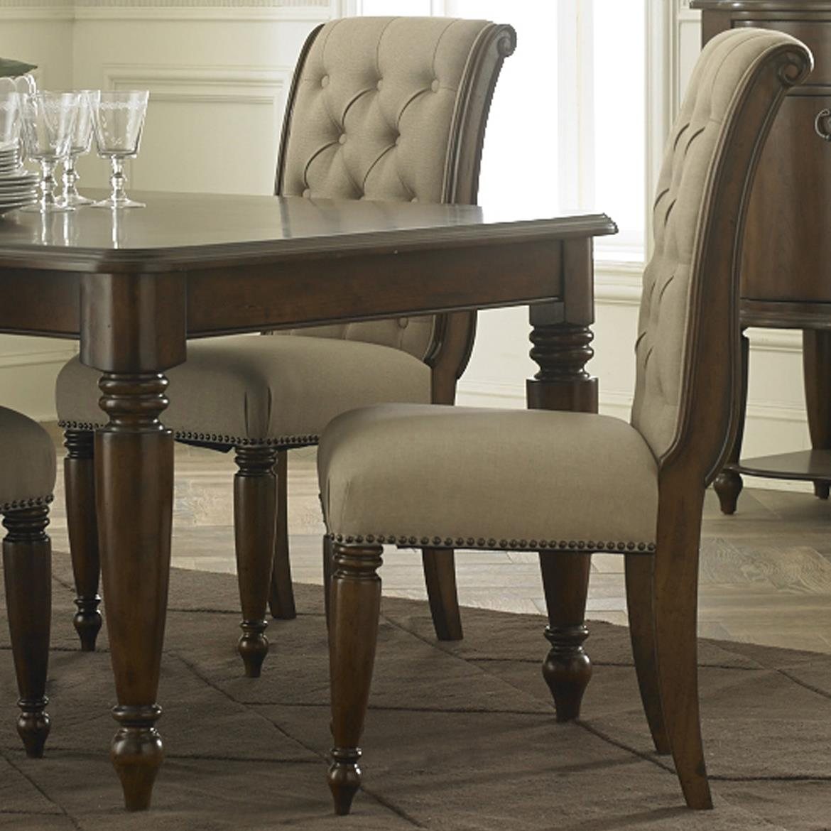 Cotswold  Upholstered Side Chair by Libby at Walker's Furniture