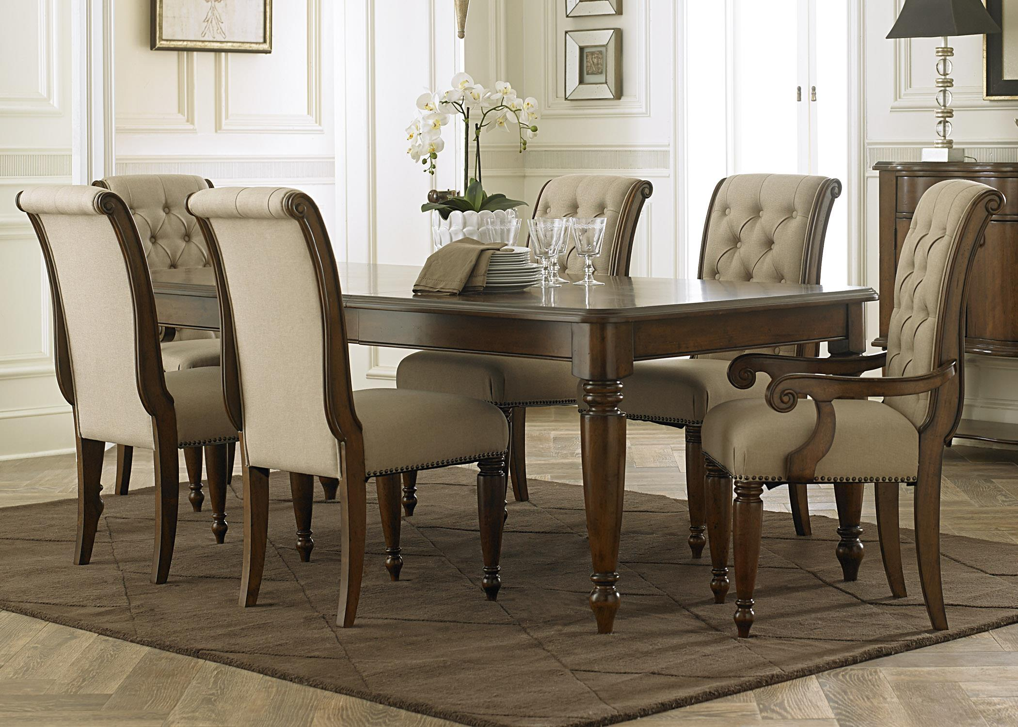 Cotswold  7 Piece Rectangular Table Set by Libby at Walker's Furniture