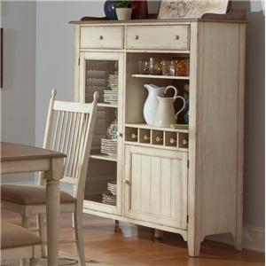 Liberty Furniture Cottage Cove Dining Display Cabinet